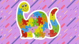 Learn The Alphabet Children's Wooden ABC Puzzle Toddler Learning