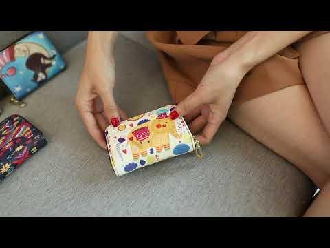 kirahosi 여성 카드지갑 가죽카드지갑 명품카드지갑 24호 + 덧신 증정 AGqjm439