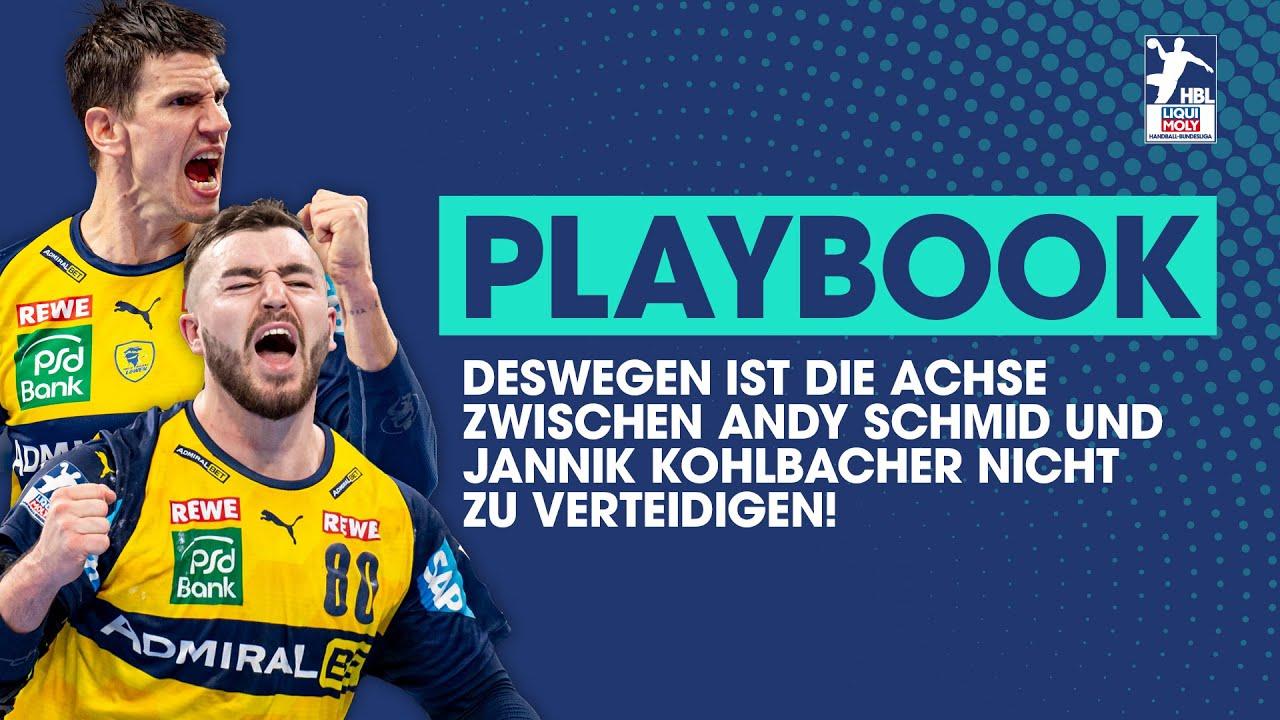 Deswegen ist die Achse zwischen Andy Schmid und Jannik Kohlbacher nicht zu verteidigen! | Playbook