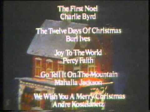 1970s Home For Christmas Album Commercial