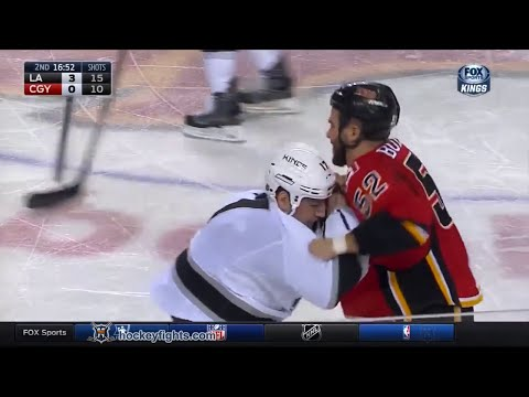 Milan Lucic vs Brandon Bollig Dec 31, 2015