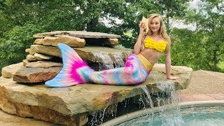 24 Hours in a Mermaid Tail | Princess Ella