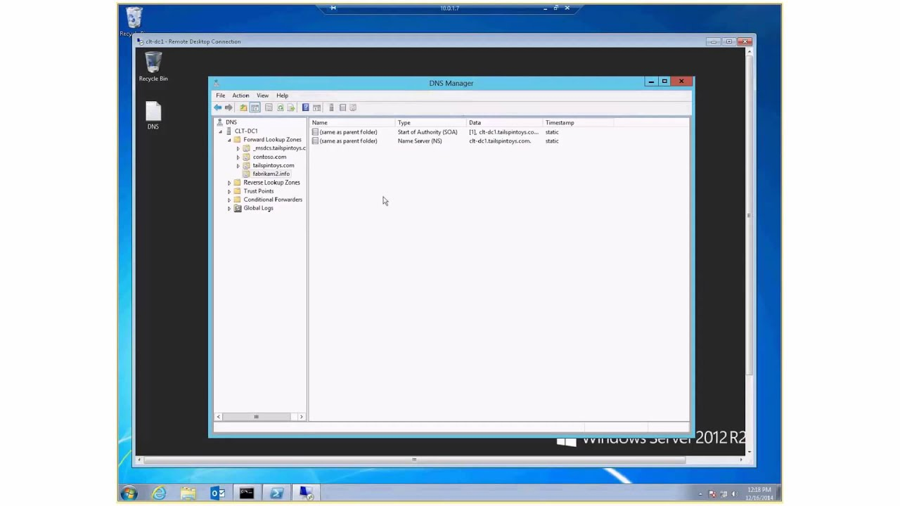 Troubleshoot Outlook Configuration and Auto Discover