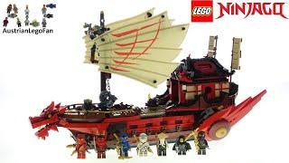 LEGO Ninjago 71705 Destiny´s Bounty - Lego Speed Build Review