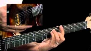 Caged Modes - #4 A Form Ionian - Guitar Lesson - Brad Carlton