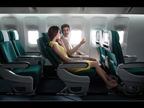 Cathay Pacific, Premium Economy, Brisbane to Hong Kong