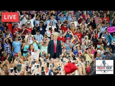 LIVE: President Donald J. Trump Rally in Mosinee, WI 10-24-18