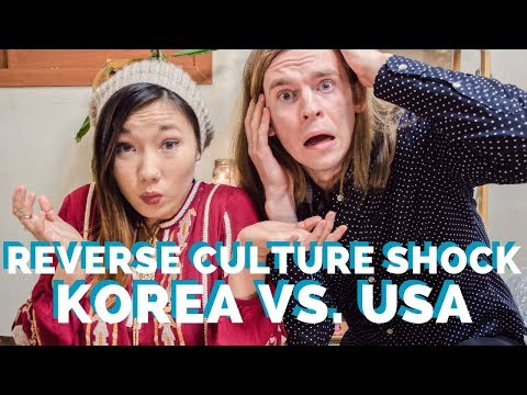 REVERSE CULTURE SHOCK - after a year in Korea