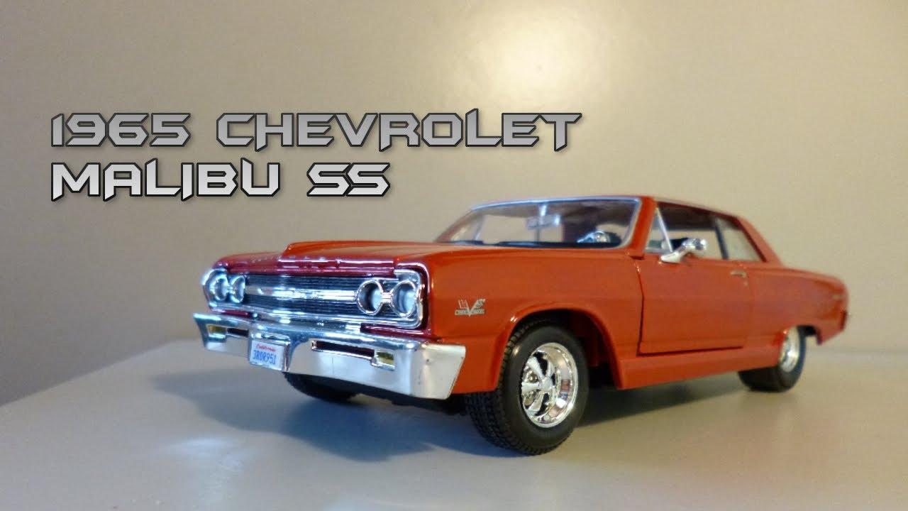Maisto 1:24 1965 Chevrolet Malibu SS Review - YouTube
