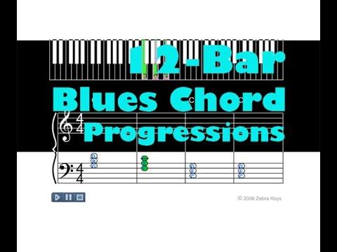 12 Bar Blues Chord Progression