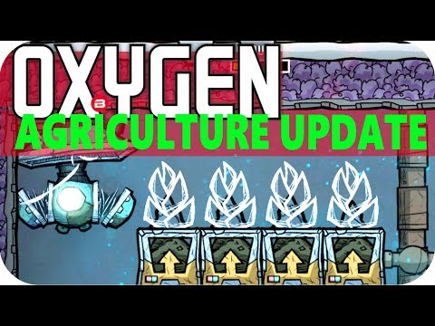 Oxygen Not Included FARM RECONSTRUCTION Lets Play Oxygen Not Included AGRICULTURE UPDATE #20