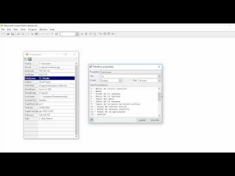 Visual FoxPro - Lista de Propiedades (Property List)
