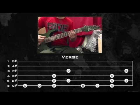 Linkin Park - One Step Closer (Guitar Tutorial w/ Tabs) by Kirjai