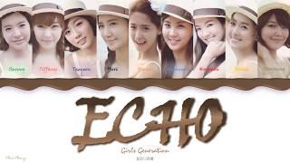 Echo — Girls' Generation 소녀시대 SNSD lyrics
