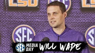 LSU's Will Wade speaks at SEC Basketball Media Day