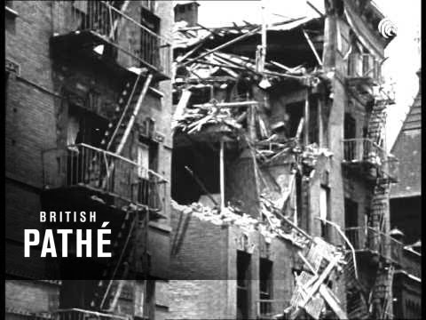 New York House Aka Anarchists Bomb Buildings In Usa (1919)