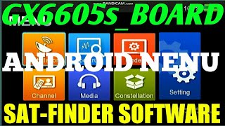 27 August 2020....GX6605s... BOARD....NEW... ANDROID... NENU... SAT-FINDER ....SOFTWARE screenshot 2