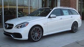 2014 Mercedes-Benz E63 AMG S Wagon Start Up, Exhaust, and In Depth Review