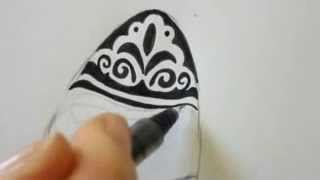 How To Draw Easter Eggs - Fancy Design