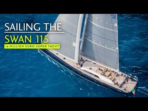 Sailing the Swan 115