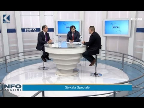 Info Magazine - Tomë Gashi, Betim Musliu  - 08.02.2018 - Klan Kosova