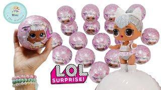 Colección completa de LOL Surprise Glam Glitter Español - Abriendo las nuevas bolitas sorpresa
