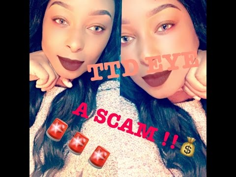 I Was SCAMMED By TTD EYES !!!?? STORY TIME W/ Screenshots