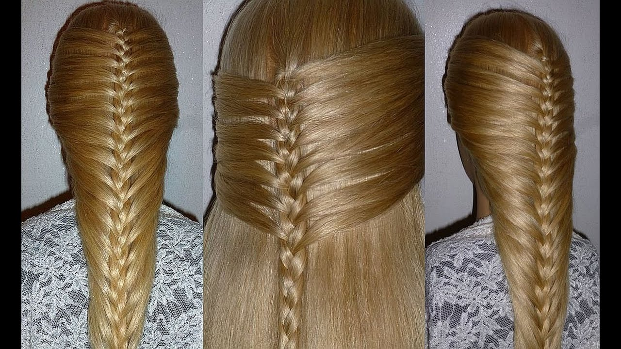 easy and quick french braid hairstyle