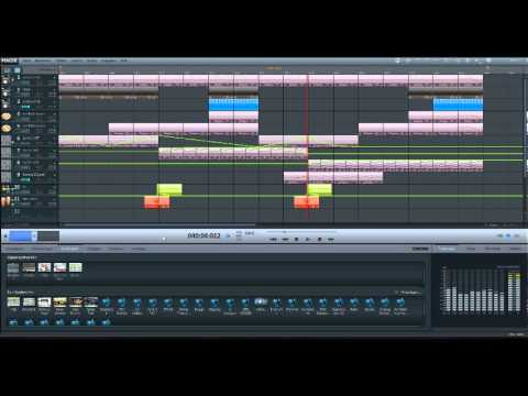 Electro house mit magix music maker 17 youtube for House music maker