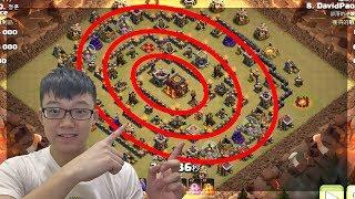 別怕同志們!!!常見陣型的破解!!!│部落衝突 Clash of Clans 部落 検索動画 16