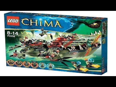 [ОБЗОР ЛЕГО]-набор лего Чима 70006 Флагманский корабль крокодилов