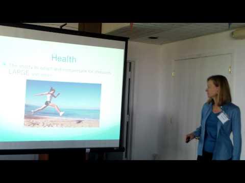Marina Rose speaks on alternative health strategies,2/3