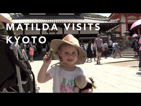 Matilda visits Kyoto