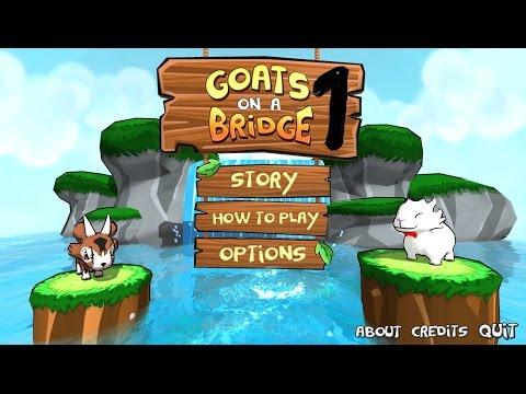 Goats on a Bridge - Verrückter Ziegenspaß   Part #01 Let's Play  