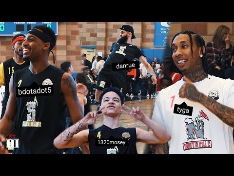 Celebrity Highlights Black Santa Basketball Game w/ NBA All-Star Baron Davis | 2018 FULL RECAP