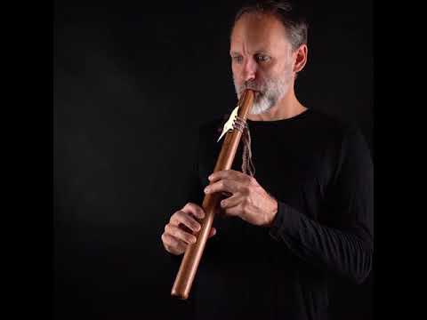 Peruvian Native Flute - Large