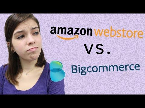 Amazon Webstore vs. BigCommerce
