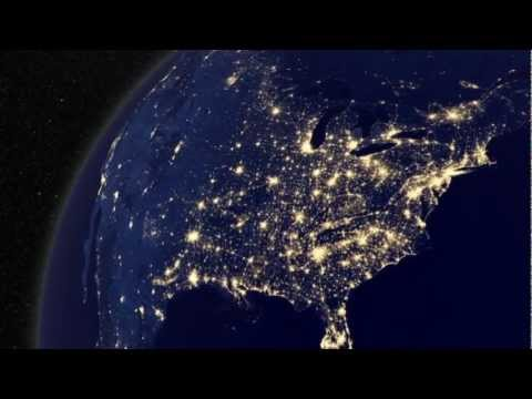 Earth at Night from Space - New NASA Video (Dec 2012) HD