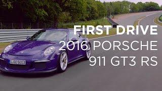 2016 Porsche 911 GT3 RS   First Drive   Driving.ca