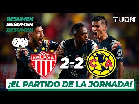Resumen y goles | Necaxa 2 – 2 América | Liga Mx – AP 19 – J14 | TUDN