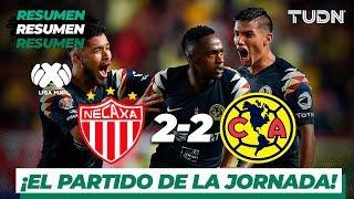 Resumen y goles | Necaxa 2 - 2 América | Liga Mx - AP 19 - J14 | TUDN