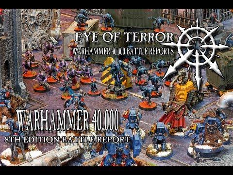 Genestealer Cult Versus Space Wolves: 1000 Point Warhammer 40k 8th Edition Battle Report