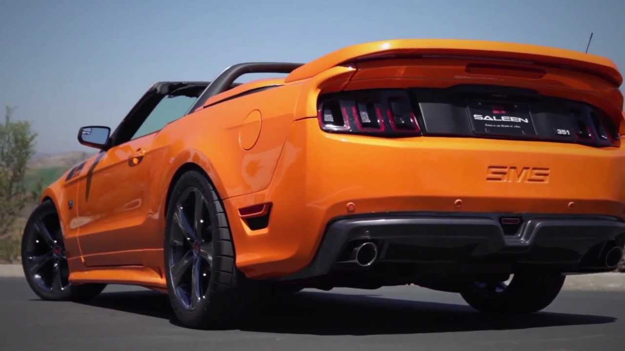 Exclusive steve saleen on the new saleen 2013 351 v8 supercharged mustang youtube