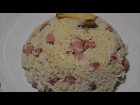 recette-cookeo-:risotto-jambon