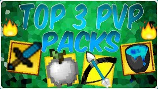 Minecraft: Top 3 PvP UHC Texture Packs NO LAG FPS BOOST | 1.7/1.8/1.9/1.10 16x MC Resource Packs