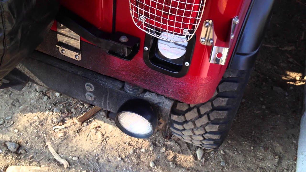 jeep rollbar rustoleum paint job