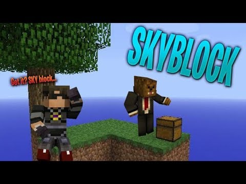 JEROME TEACHES ME CHAOS SKYBLOCK (Ft JeromeASF)