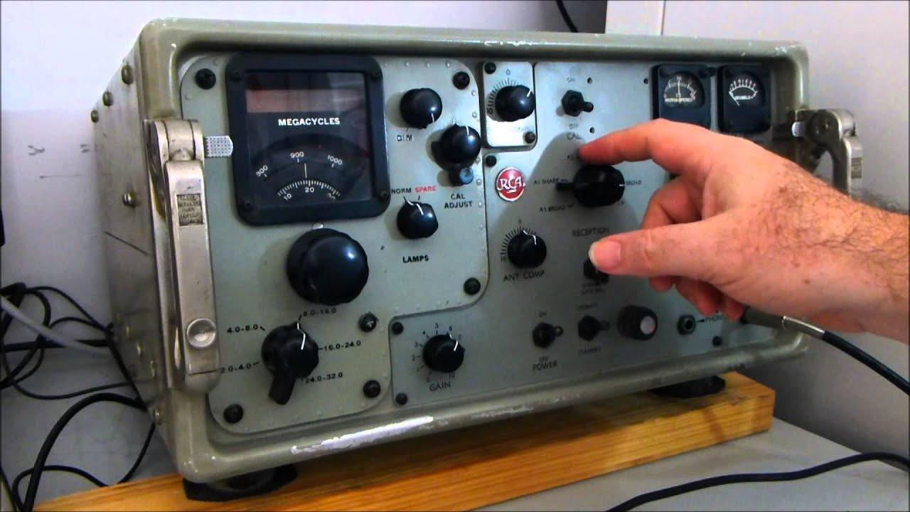 Usn Srr-13 Hf Receiver Demonstration