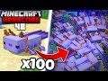 I Found 100 Of The RAREST Axolotl In Minecraft Hardcore 48 mp3