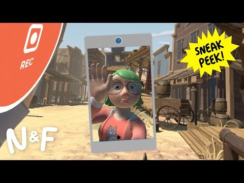 Thumbnail: Nat & Friends: VR for Creativity Sneak Peek